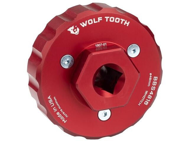 Wolf Tooth BBS4816 Keskiötyökalu, red